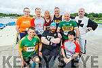 At the Tralee Harriers Rose of Tralee 10k in the Tralee Wetlands on Sunday. .<br /> Kneeling l to r: Gearoid Pierce (Listowel), Ger Daly (Ballyfinnane) and Melanie Kelly (Tralee).<br /> Back l to r: Helen Broderick (Kilmorna), Ross Gallagher (Castleisland), Jim Tobin (Cork), Willie Guiney (Listowel), Tony Sullivan (Killarney) and Martin Rourke (Tralee).