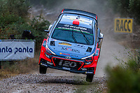 Daniel Sordo/Marc Martí (Hyundai i20 WRC) during the World Rally Car RACC Catalunya Costa Dourada 2016 / Rally Spain, in Catalunya, Spain. October 15, 2016. (ALTERPHOTOS/Rodrigo Jimenez) NORTEPHOTO.COM