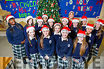 Students at  Presentation Secondary School Santa Hat Day in aid of Ronald McDonald House.