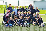 Pupils from Third, Fourth, Fifth and Sixth classes of Ardfert National School at the 'bring Camogie back'  an initiative by the Munster Council to get schools in Kerry to play Camogie, the event was held at the IT North Campus on Friday