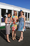 Lynsey Ryder, Annemarie Hamilton and Teresa Ryan at the Bellewstown Races 2011...(Photo credit should read Jenny Matthews www.newsfile.ie)....This Picture has been sent you under the conditions enclosed by:.Newsfile Ltd..The Studio,.Millmount Abbey,.Drogheda,.Co Meath..Ireland..Tel: +353(0)41-9871240.Fax: +353(0)41-9871260.GSM: +353(0)86-2500958.email: pictures@newsfile.ie.www.newsfile.ie.