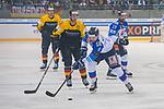 15.04.2018, EnergieVerbund Arena, Dresden, GER, Euro Hockey Challenge, Deutschland vs. Slowakei, im Bild<br /> <br /> <br /> Martin Fehervary (#3, Slowakei), Pascal Zerressen (#6, Deutschland), Benedikt Bruckner (#5, Deutschland),<br /> <br /> Foto &copy; nordphoto / Dostmann