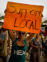 Organic and locally grown in Hawaii demonstration
