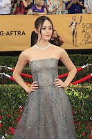 Emmy Rossum at the 2015 Screen Actor Guild Awards at the Shrine Auditorium on January 25, 2015 in Los Angeles, CA David Edwards/DailyCeleb.com 818-249-4998