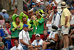 Some of the colourful fans at the 16th green during the Afternoon Fourball on Day 2 of the Ryder Cup at Valhalla Golf Club, Louisville, Kentucky, USA, 20th September 2008 (Photo by Eoin Clarke/GOLFFILE)