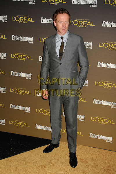 Damian Lewis.Entertainment Weekly's 2012 Pre-Emmy Party held at Fig & Olive, West Hollywood, California, USA..September 21st, 2012.full length suit hand in pocket black grey gray shirt tie.CAP/ADM/BP.©Byron Purvis/AdMedia/Capital Pictures.