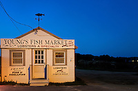 Fish market shack at Rock harbor, Orleans, Cape Cod, MA