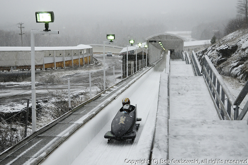 2 Man Bobsled competition at the , North American Cup in  Lake Placid, New York
