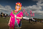© Joel Goodman - 07973 332324 . 07/06/2015 . Manchester , UK . JADE NORRELL-KNAPSON (28 from Pontefract ) at The Parklife 2015 music festival in Heaton Park , Manchester . Photo credit : Joel Goodman