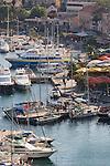 Calvi yacht harbor; Corsican towns, Corsica harbors, Calvi, Northwest coast of Corsica, France, Mediterranean Coast, Coastal towns in Corsica,