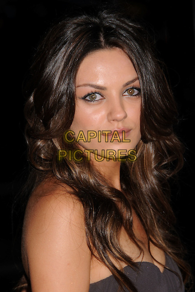 "MILA KUNIS.""Forgetting Sarah Marshall"" Los Angeles Premiere at Grauman's Chinese Theatre, Hollywood, California, USA..April 10th, 2008.headshot portrait strapless.CAP/ADM/BP.©Byron Purvis/AdMedia/Capital Pictures."
