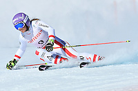 February 16, 2017: Michaela KIRCHGASSER (AUT) competing in the women's giant slalom event at the FIS Alpine World Ski Championships at St Moritz, Switzerland. Photo Sydney Low