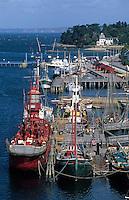 Europe/France/Bretagne/29/Finistère/Douarnenez: Le port et so musée maritime