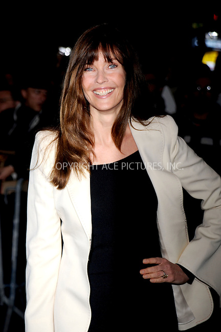 WWW.ACEPIXS.COM . . . . .....May 21, 2008. New York City.....Model Carol Alt attends the 'Indiana Jones and the Kingdom of the Crystal Skull' screening held at the AMC Lincoln Square Cinemas...  ....Please byline: Kristin Callahan - ACEPIXS.COM..... *** ***..Ace Pictures, Inc:  ..Philip Vaughan (646) 769 0430..e-mail: info@acepixs.com..web: http://www.acepixs.com