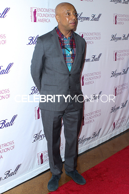 NEW YORK CITY, NY, USA - MARCH 07: Russell Simmons at the 6th Annual Blossom Ball Benefiting Endometriosis Foundation Of America held at 583 Park Avenue on March 7, 2014 in New York City, New York, United States. (Photo by Jeffery Duran/Celebrity Monitor)
