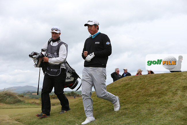 Byeong Hun-An (KOR) walking from the 8th tee during Round Three of the 2015 Dubai Duty Free Irish Open Hosted by The Rory Foundation at Royal County Down Golf Club, Newcastle County Down, Northern Ireland. 30/05/2015. Picture David Lloyd | www.golffile.ie
