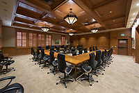 Cushman Board Room in Hinchliffe Hall, March 20, 2018.
