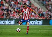 June 4th 2017, Estadi Montilivi,  Girona, Catalonia, Spain; Spanish Segunda División Football, Girona versus Zaragoza; Eloi Amagat, Girona's (captain) clears upfield