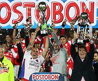 Independiente Santa Fe Campeon de La Liga Postobon II 2014