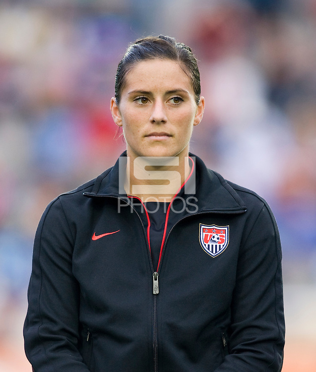Ali Krieger. The USWNT defeated Japan, 2-0,  at WakeMed Soccer Park in Cary, NC.