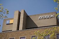 Toronto Ryerson University campus is pictured April 21, 2010. Ryerson University is a public research university composed of 31,000 undergraduate students, 2,170 graduate students, and 65,400 certificate and continuing education students.