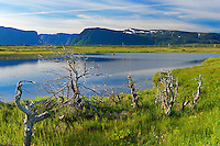Pond and Long Range Mountains<br /> St. Paul's Inlet<br /> Newfoundland &amp; Labrador<br /> Canada