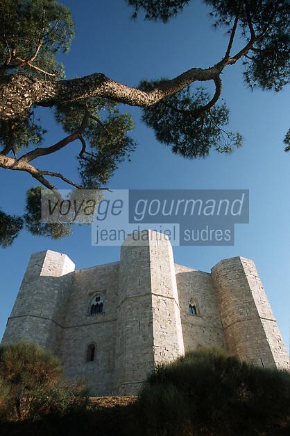 Europe/Italie/La Pouille/Castel del Monte: Le Château XIII e- Patrimoine mondial UNESCO