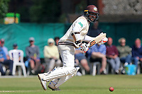 Kumar Sangakkara in batting action for Surrey during Surrey CCC vs Essex CCC, Specsavers County Championship Division 1 Cricket at Guildford CC, The Sports Ground on 11th June 2017