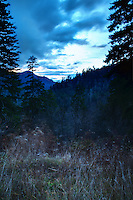 The sun is sinking behind the Great Smoky Mountains in Eastern Tennessee... an incredibly place to visit!