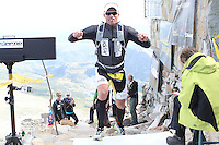 Race number 8 - Erik Anderson - Norseman Xtreme Tri 2012 - Norway - photo by chris royle/ boxingheaven@gmail.com