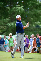 Matt Kuchar (USA) watches his tee shot on 9 during Saturday's round 3 of the PGA Championship at the Quail Hollow Club in Charlotte, North Carolina. 8/12/2017.<br /> Picture: Golffile | Ken Murray<br /> <br /> <br /> All photo usage must carry mandatory copyright credit (&copy; Golffile | Ken Murray)