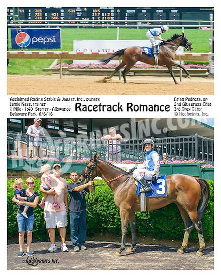 Racetrack Romance winning at Delaware Park on 6/6/16
