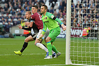 Lukasz Fabianski of West Ham United and Declan Rice Of West Ham United during West Ham United vs Burnley, Premier League Football at The London Stadium on 3rd November 2018