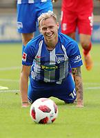 Ondrej Duda      <br /> / Sport / Football / pre season friendly Bundesliga  DFL /  2018/2019 / 15.08.2018 / Hertha BSC Berlin vs. Hscher FC Chemie HFC / DFL regulations prohibit any use of photographs as image sequences and/or quasi-video. /<br />       <br />    <br />  *** Local Caption *** &copy; pixathlon