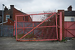 The site of The Victoria Ground, home of Stoke City until 1997.Photo by Paul Thompson.