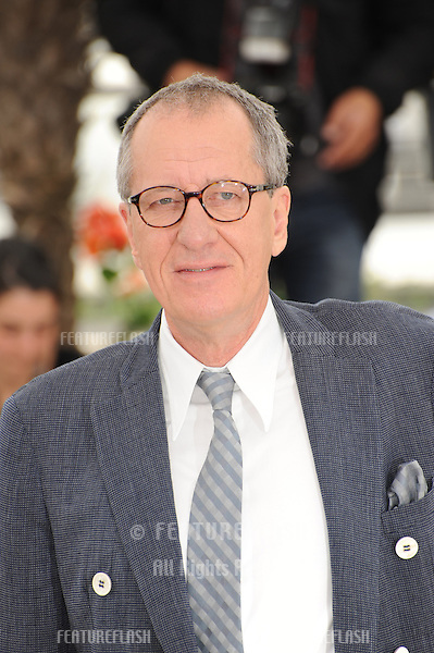 "Geoffrey Rush at the photocall for his movie ""Pirates of the Caribbean: On Stranger Tides"" at the 64th Festival de Cannes..May 14, 2011  Cannes, France.Picture: Paul Smith / Featureflash"