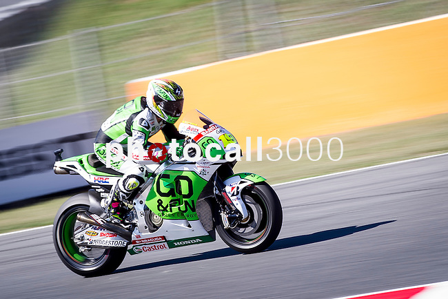 The Rider Alvaro Bautista during the qualifying practice of MotoGP Grand Prix of Catalunya. 06/14/2014. Samuel Roman/Photocall3000