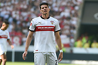Chance vergeben, Mario Gomez (VFB Stuttgart #27)<br />, VFB Stuttgart - SV Werder Bremen, Football, Bundesliga, 21.04.2018 *** Local Caption *** © pixathlon