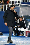Leganes vs Villarreal coach Javi Calleja during Copa del Rey match. 20180104.