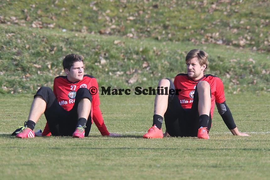 Pirmin Schwegler und Marco Russ (Eintracht)