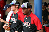 August 7, 2009: Members of the Baseball Factory team during the Under Armour All-America event at Les Miller Field in Chicago, Illinois.  (Copyright Mike Janes Photography)