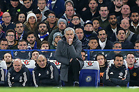 Manchester United Manager, Jose Mourinho during Chelsea vs Manchester United, Premier League Football at Stamford Bridge on 5th November 2017