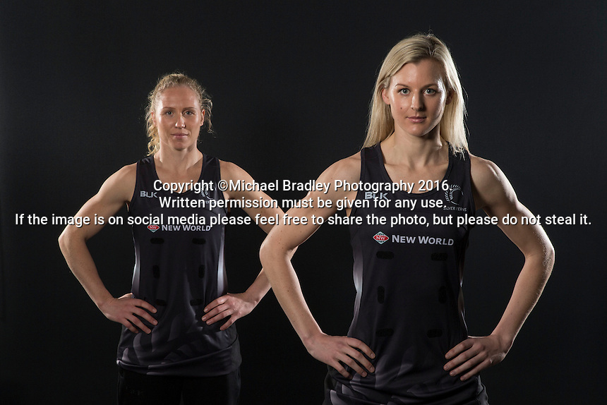 17.07.2016 Silver Ferns Team annoucement - PHOTO - Nigel Marple. Mandatory Photo Credit ©Michael Bradley Photography.