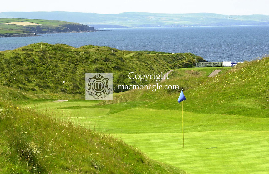 The magnificient 12th hole (formerly the 18th) at Ballybunion golf club Ballybunion..Picture by Don MacMonagle.