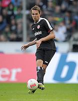FUSSBALL   1. BUNDESLIGA  SAISON 2012/2013   7. Spieltag   Borussia Moenchengladbach - Eintracht Frankfurt   07.10.2012 Vadim Demidov (Eintracht Frankfurt) Einzelaktion am Ball