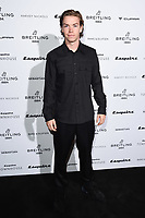 LONDON, UK. October 16, 2019: Will Poulter arriving for the Esquire Townhouse 2019 launch party, London.<br /> Picture: Steve Vas/Featureflash