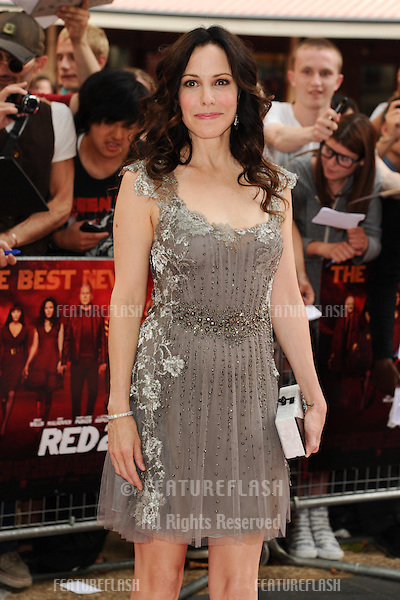 Mary Louise Parker arriving for the UK Premiere of Red 2, at Empire Leicester Square, London. 22/07/2013 Picture by: Steve Vas / Featureflash