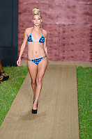 Liz Nolan at Julia Veli Swimwear Show during Funkshion Fashion Swim Week 2013 at Miami Beach, FL on July 19, 2012