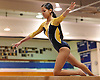 Bethpage gymnastics at Long Beach High School Monday, January 4, 2016. Ashley Feliz - Balance Beam