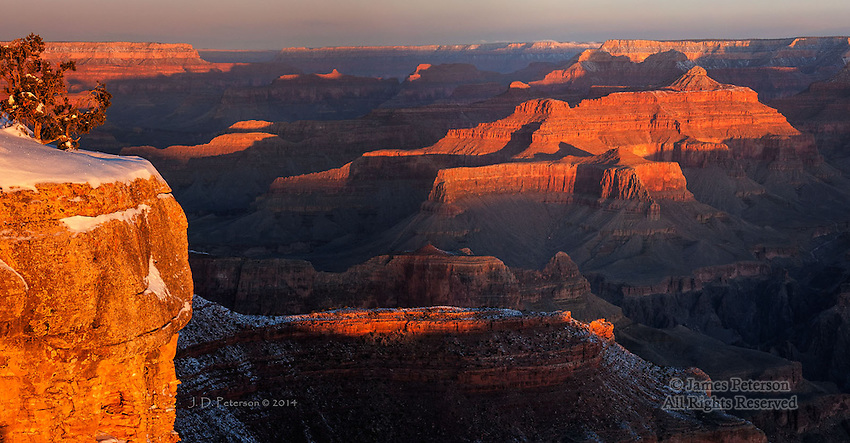 Daybreak, South Rim, Grand Canyon